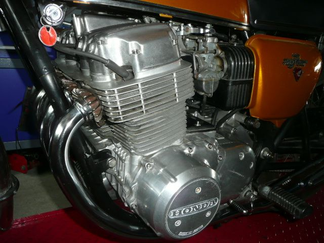 Side Honda Cb 750 Four K1