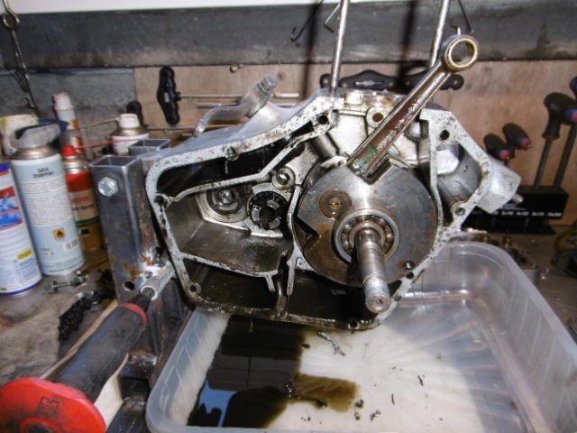 Remise en état moteur Motobécane D45s. 1er