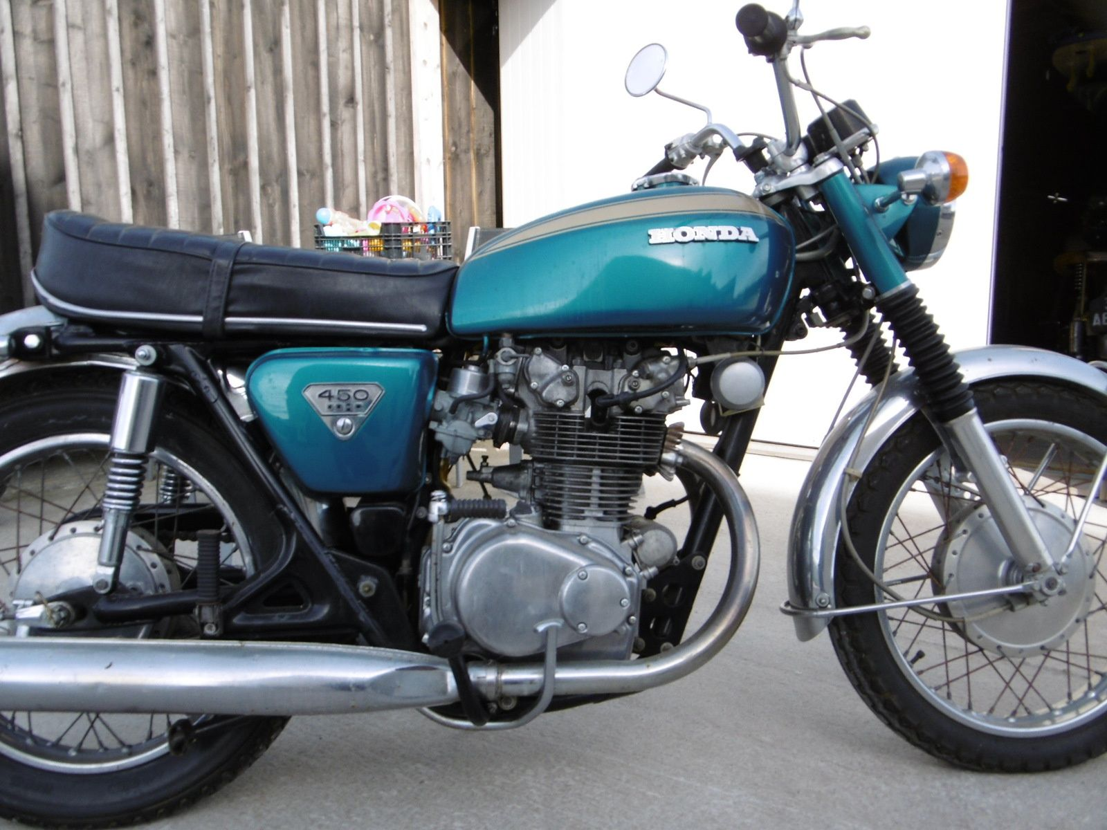 HONDA CB 450 K1 de 1971