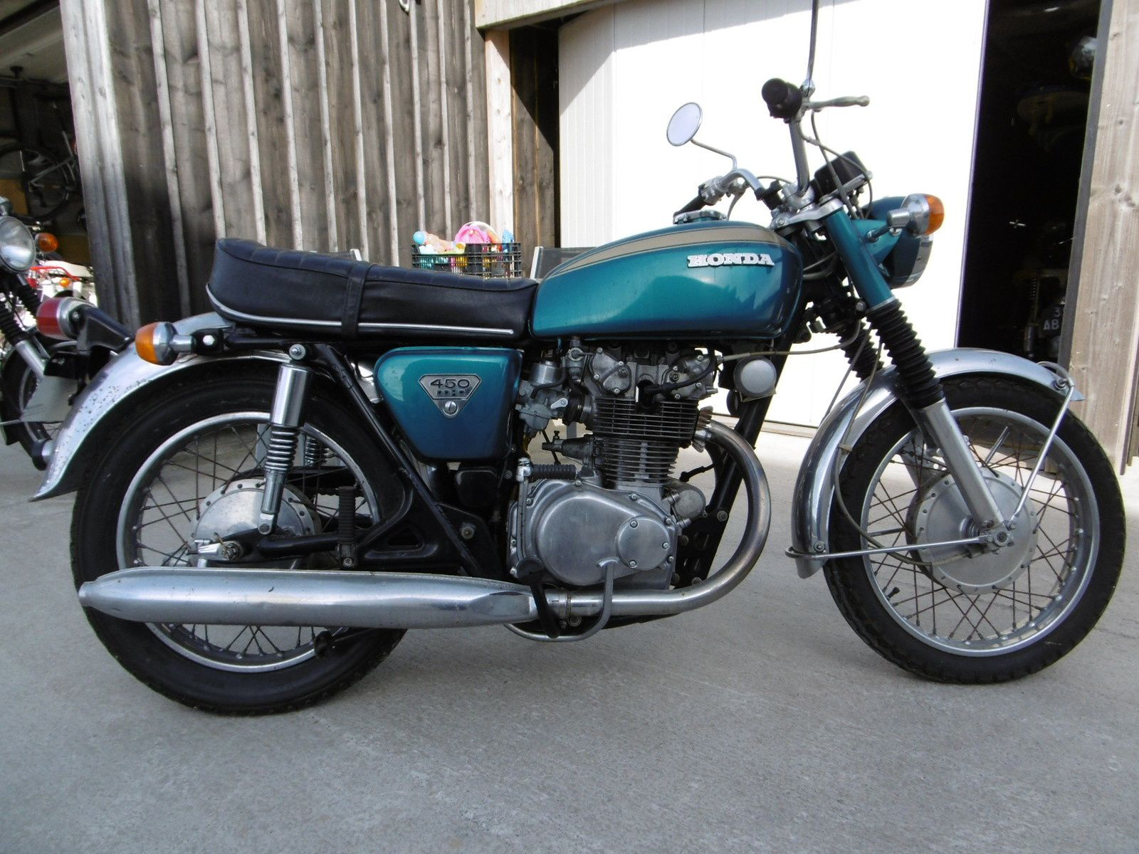 honda cb 450 k1 de 1971 breizh moto ancienne. Black Bedroom Furniture Sets. Home Design Ideas