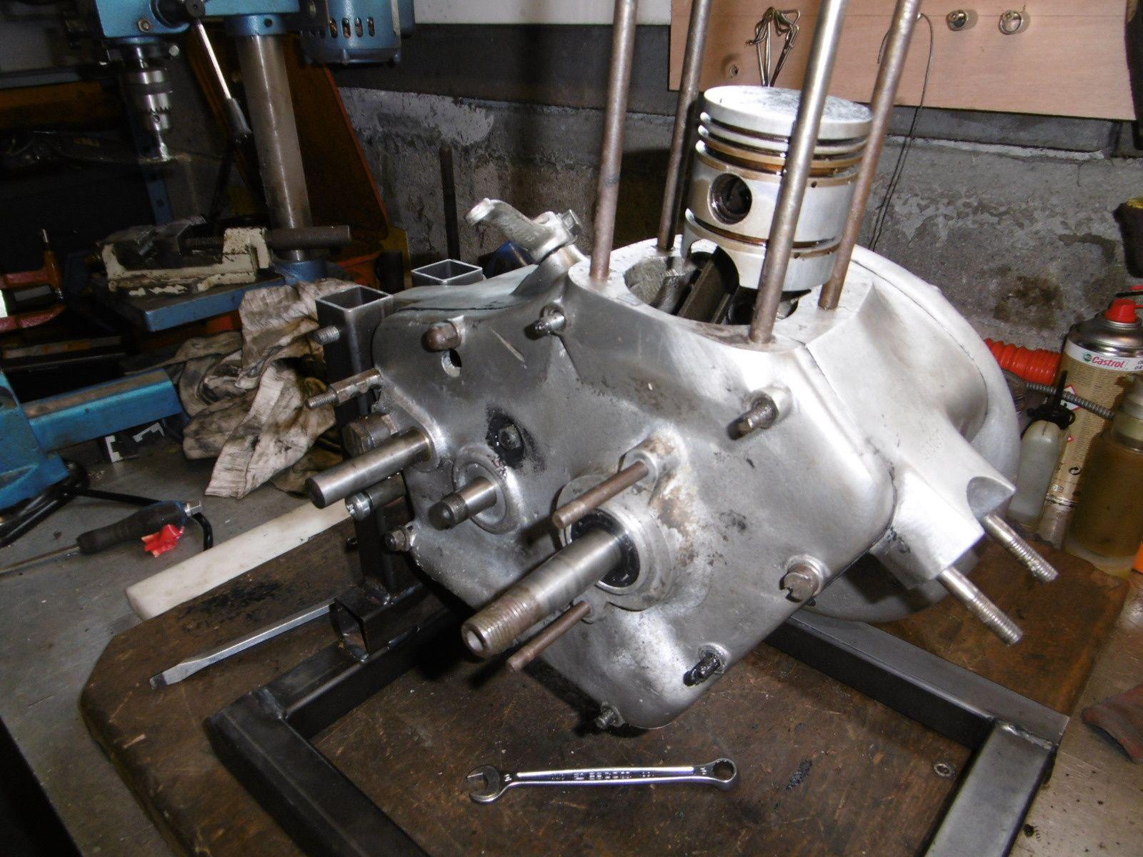 Remise en état moteur Motobécane D45s