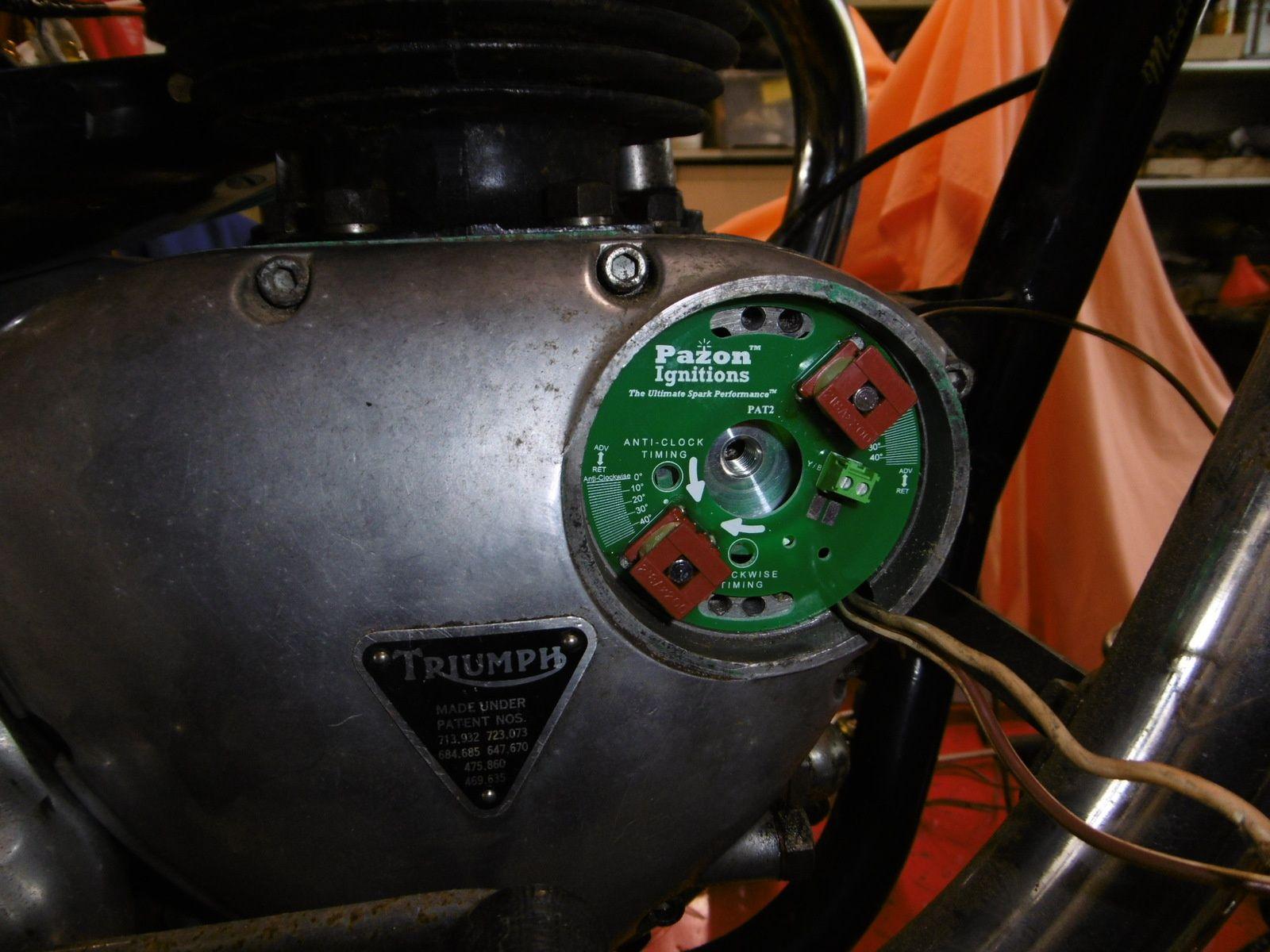 TRIUMPH T 120 R à restaurer