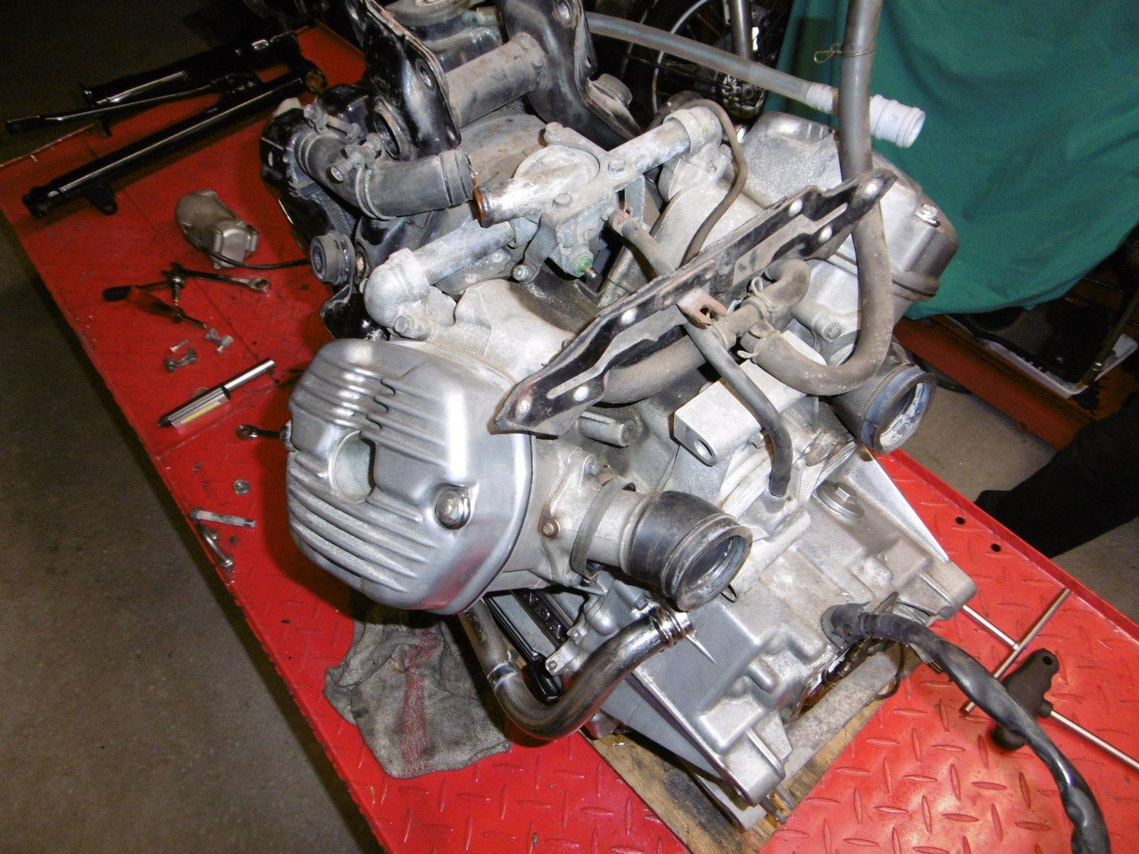 Honda Cx 500 Terminée