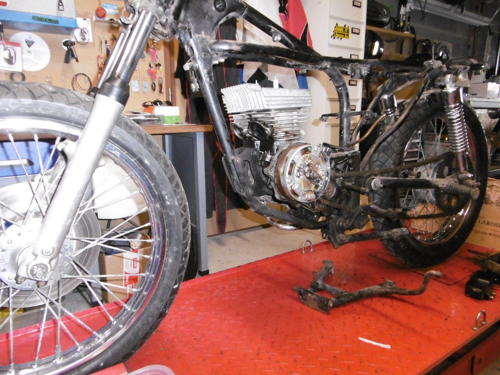 Restauration Suzuki GT 125 / Terminée