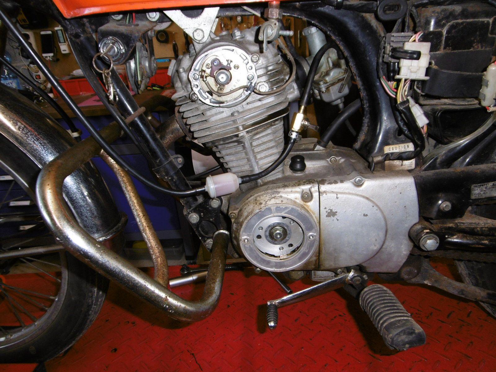 Remise en route Honda CB125 S3