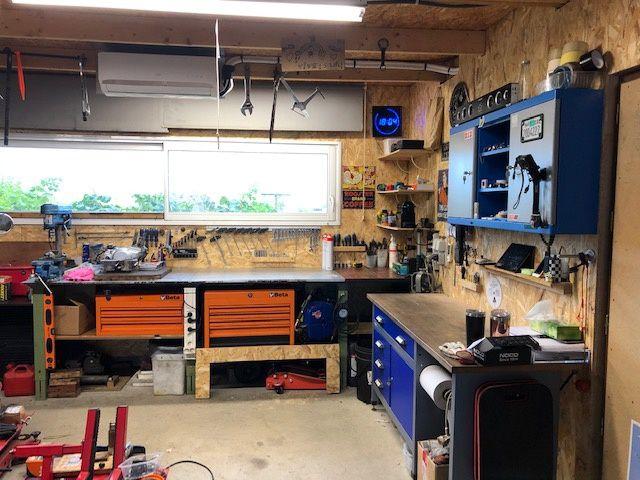 Semaine Active pour aménager le garage.
