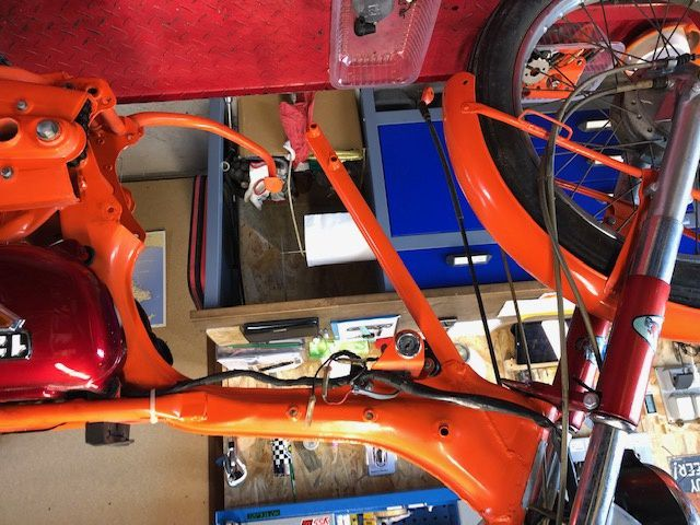 Remise en route Honda CB 125s