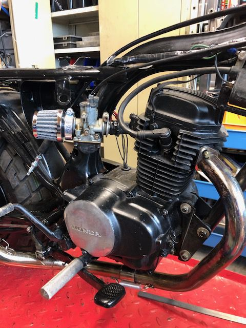 Honda Cy 80 à modifier