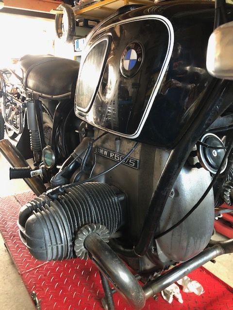 Bmw R 60/5 remise en état boite et embrayage