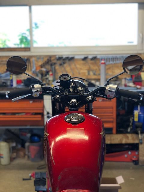 HONDA CM 125 . MODIFICATION TERMINÉE