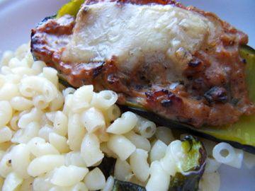 Courgettes végétariennes farçies à la Ricotta