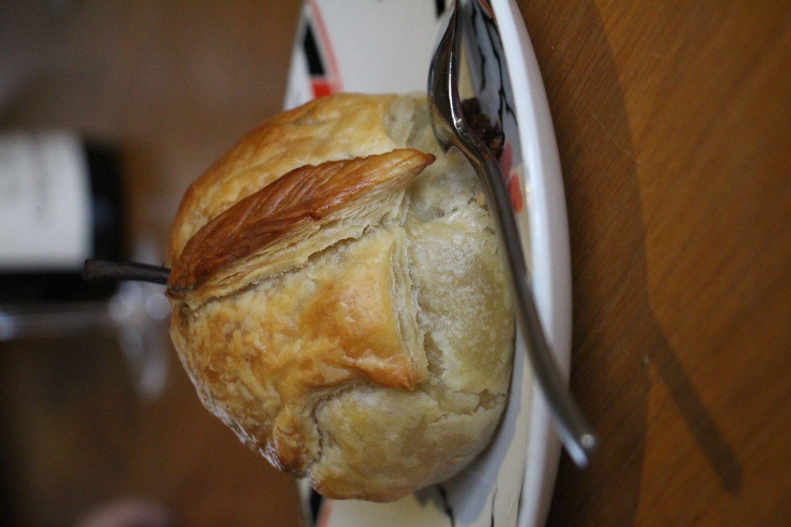 Douillons de poire farcie aux noisettes et noix de Pécan