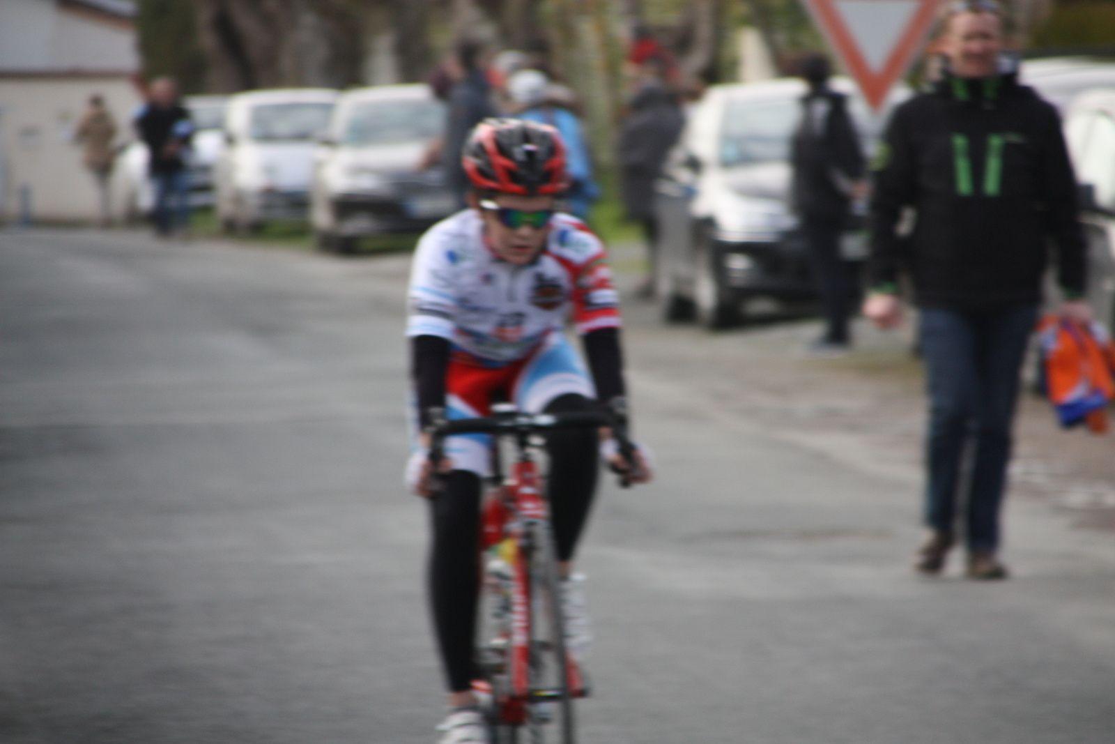 16e  Lothaire  PICHOT(VCCO), 17e  Nolan  GUINOT(VC Saintes), 18e  Maxence  PAUL(VC Rochefort)