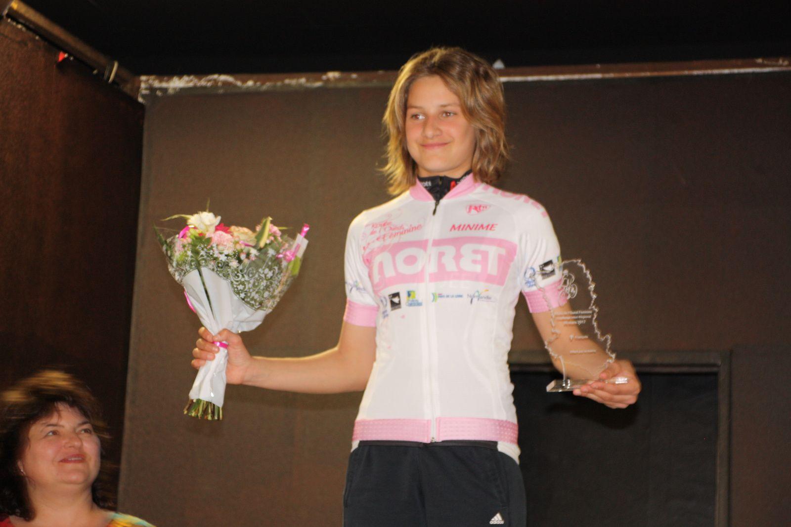 Le  podium  du  challenge  ROF  Minimes