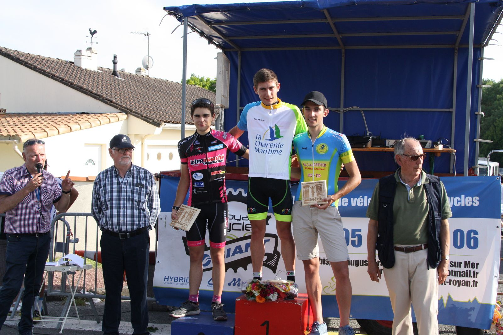 Romain  BELON  Champion  Départemental  Junior.