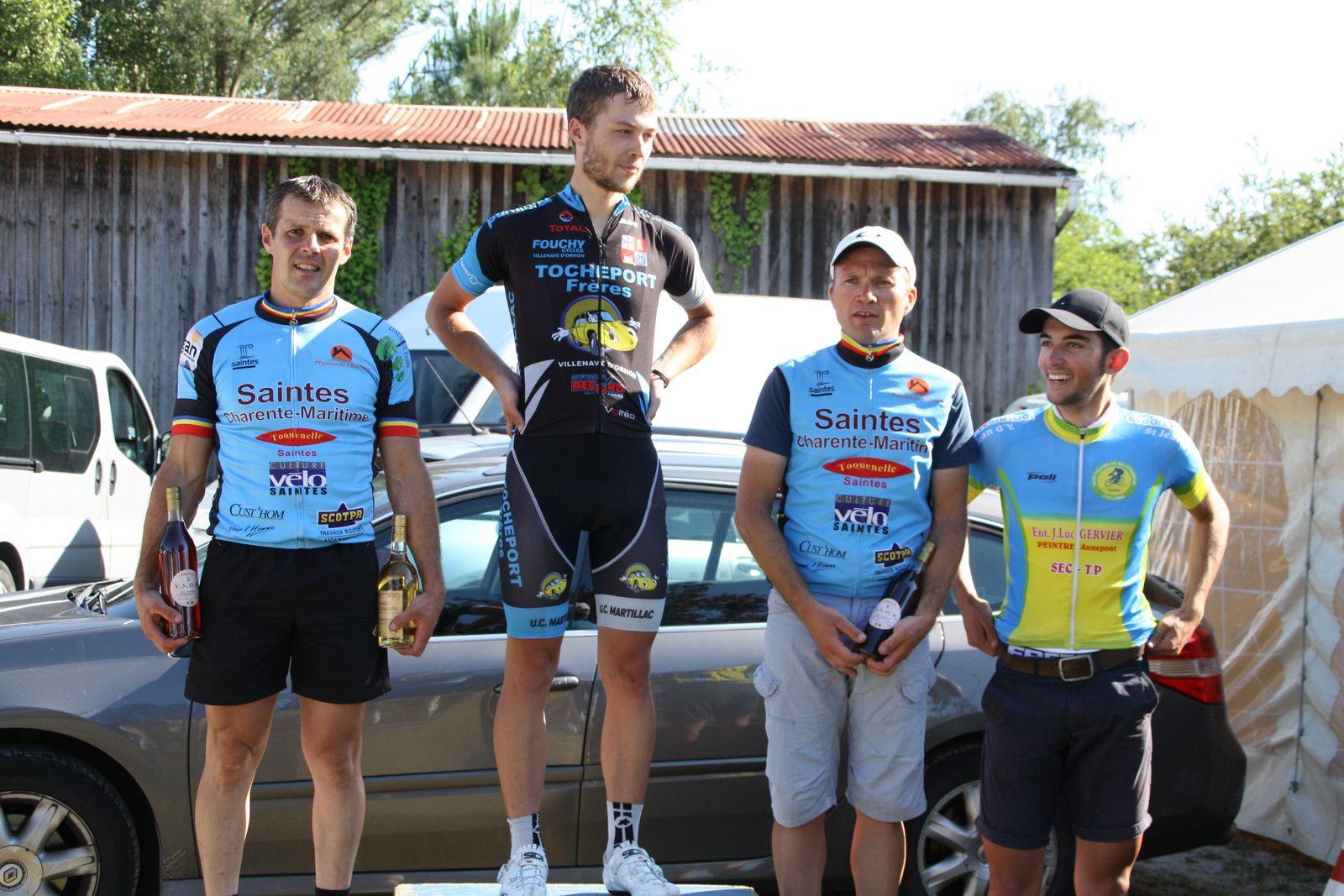 Le  podium  D1