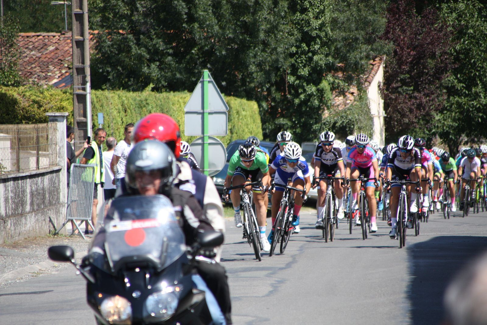 2e  passage  classement  sprinter  Héléne  GERARD  passe  en  tête