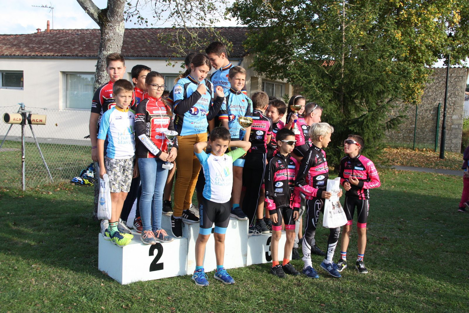 Le  podium  des  clubs