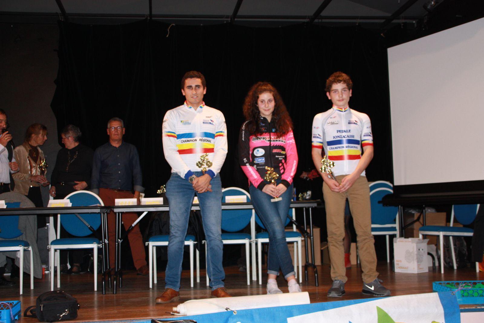 Les  champions  régionaux  de  cyclo-cross