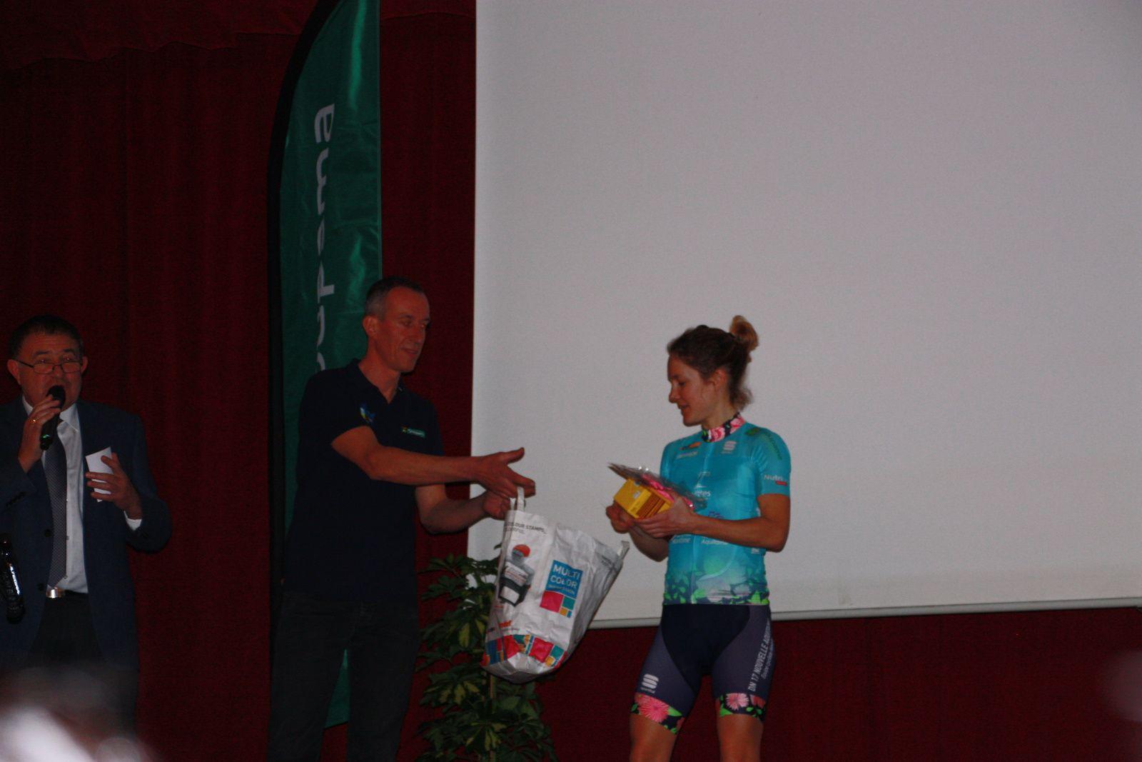Marie  LAFLEUR  la  sociétaire  de  l'Avenir  Cycliste