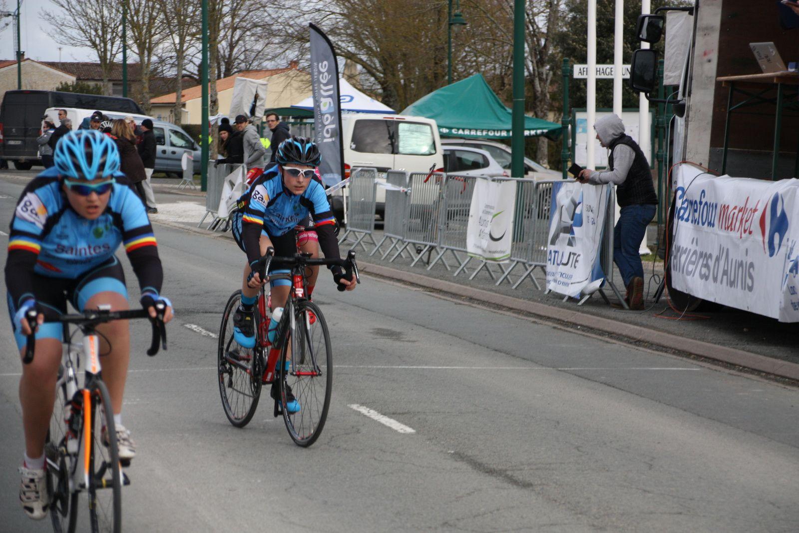 7e  Franck  CAILLAUD (VC  Saintes)
