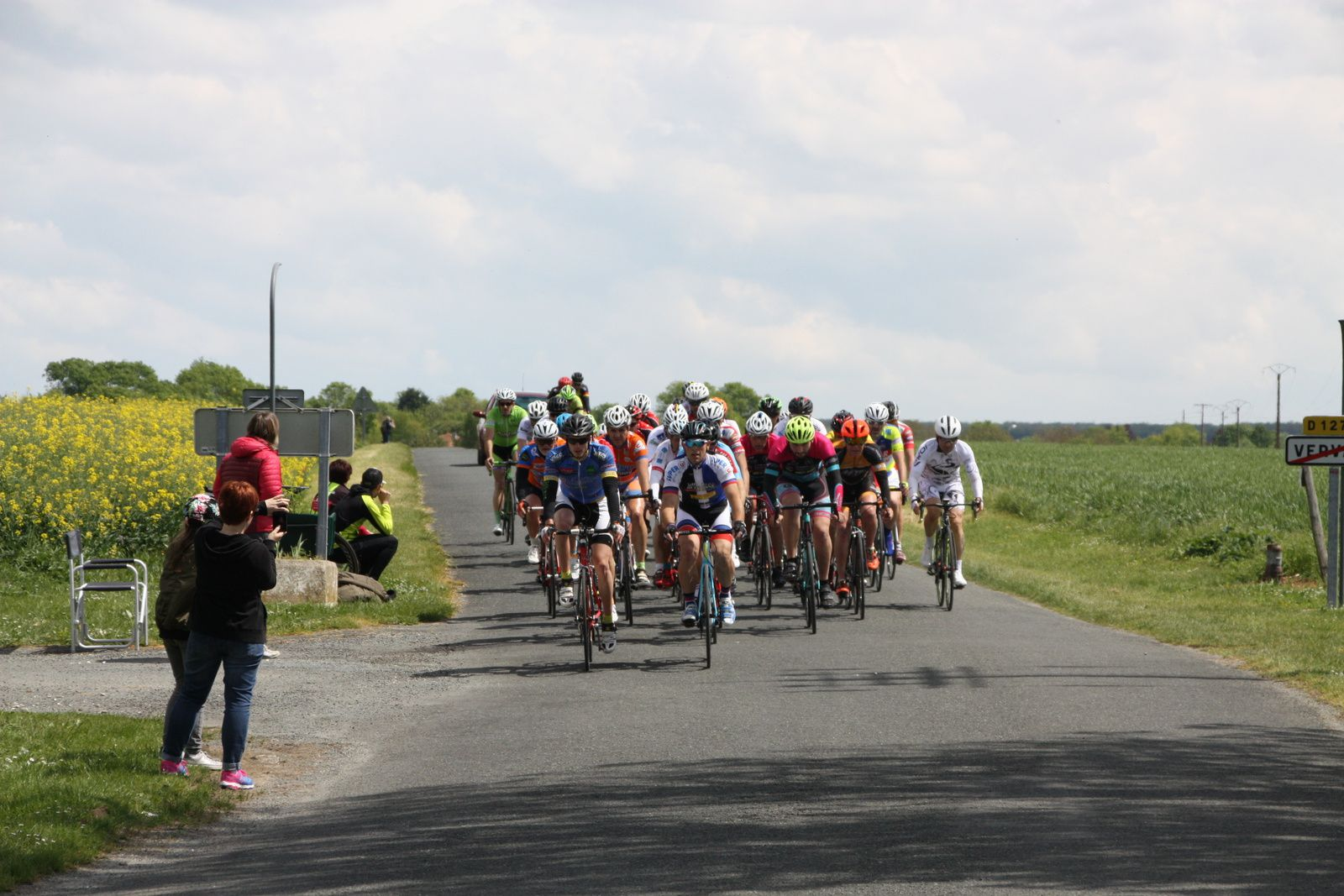 Peloton  regroupé