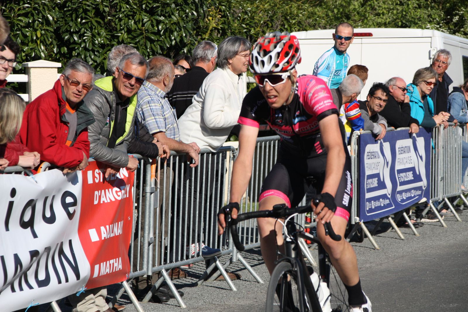 6e  Cédric  BESSAGUET(VC  Rochefort)  1er  Junior