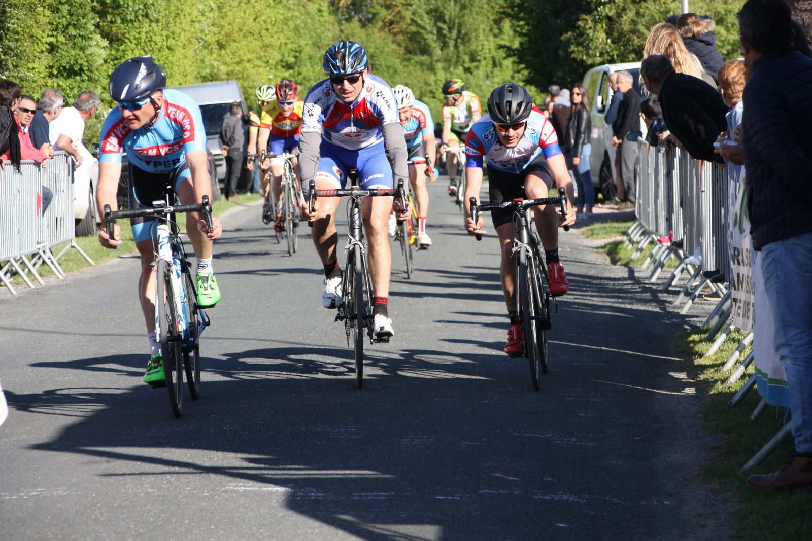 9e  Christophe  VEILLON(VC  Saintes), 10e  Quentin  VIGIER(CA  Civray), 11e  Michaél  DESNOYERS(APOGE)