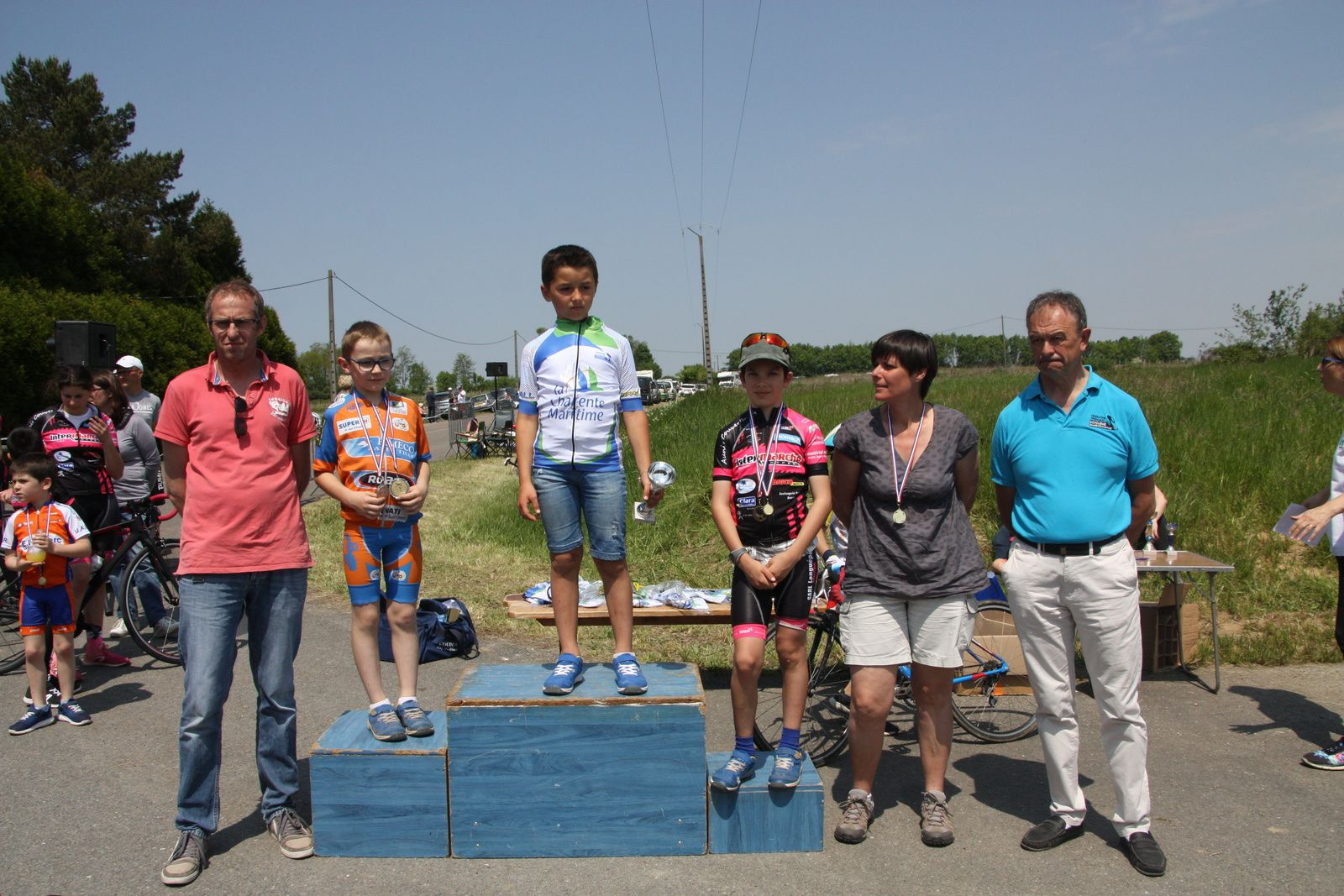 Podium  CD17  Pupilles