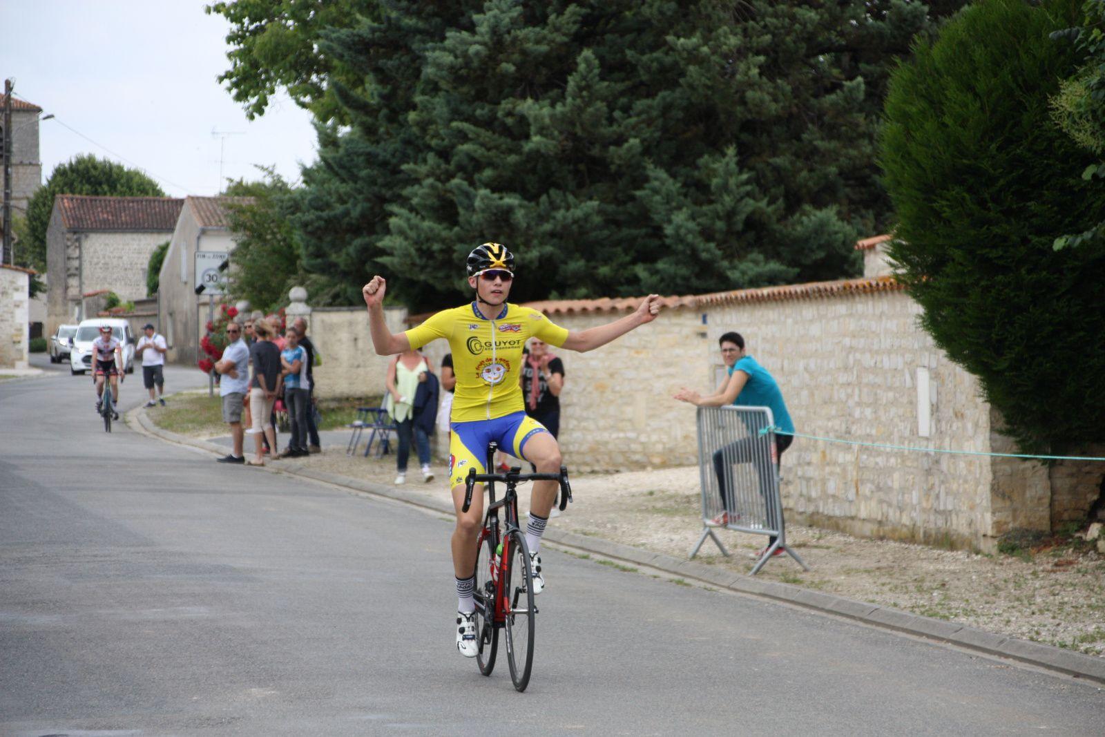 1er  Etienne  MINGANT(CC  Bourg Blanc)
