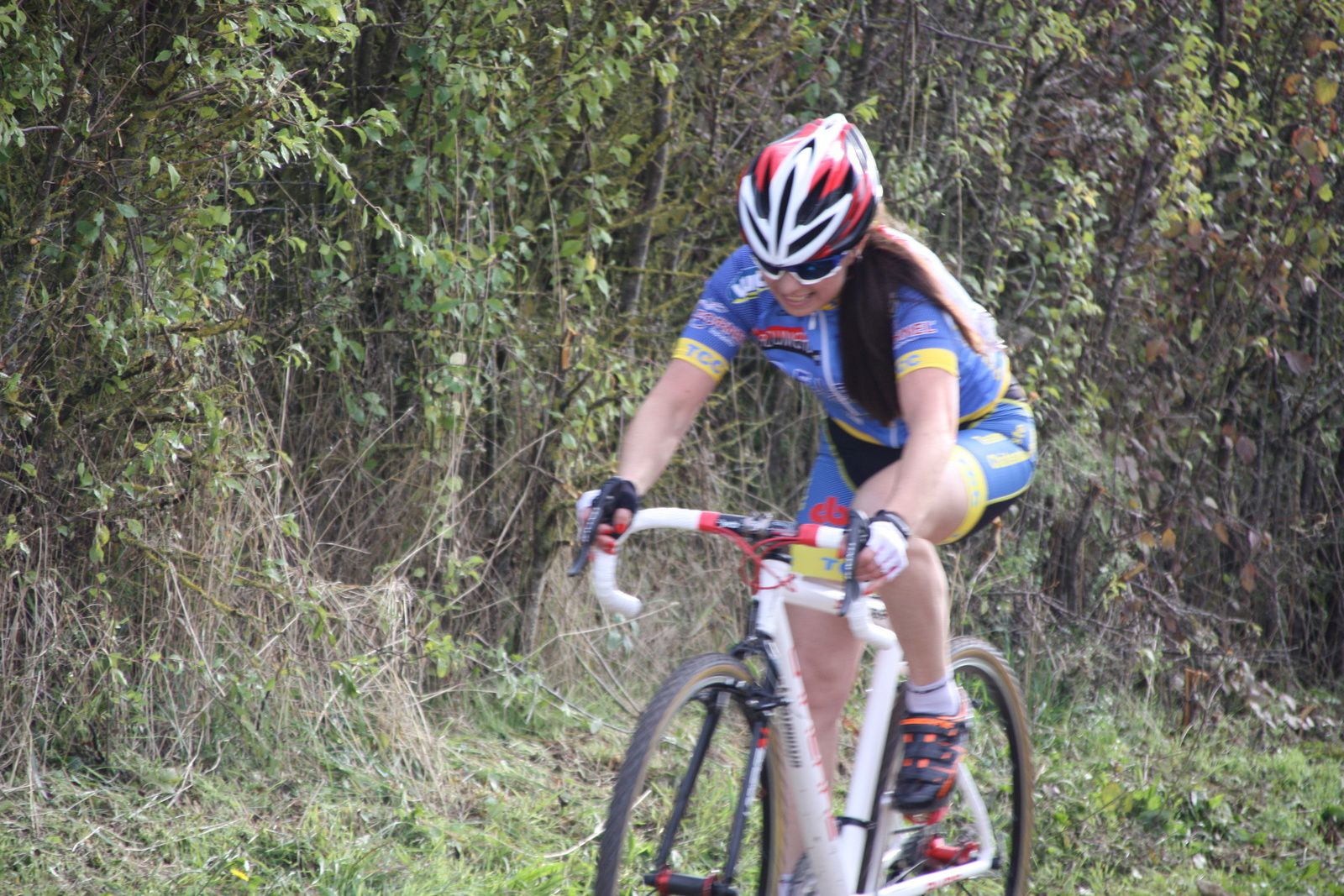 CYCLO-CROSS  MACQUEVILLE. DAMES