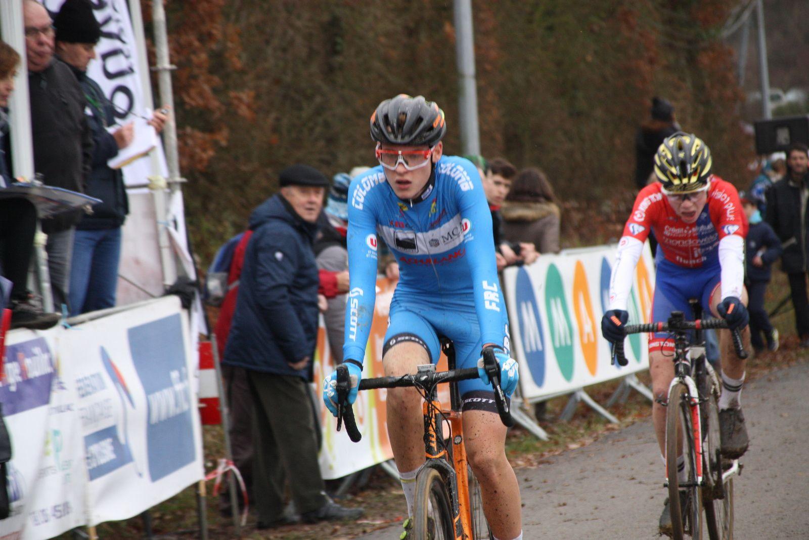 8e  Hugo  PICHON(Free Rider C), 9e  Rémy  DROMAIN(UV  Poitiers)