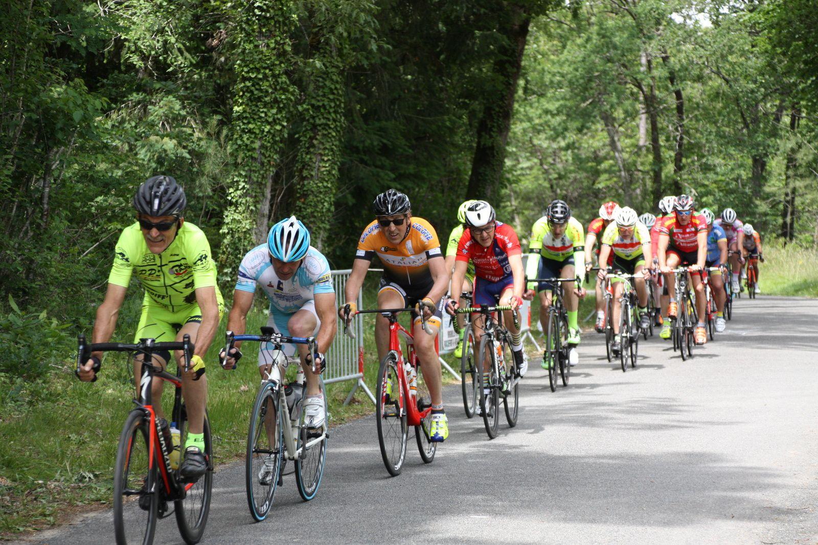 Le  coureur  du  CO La Couronne  est  repartit.