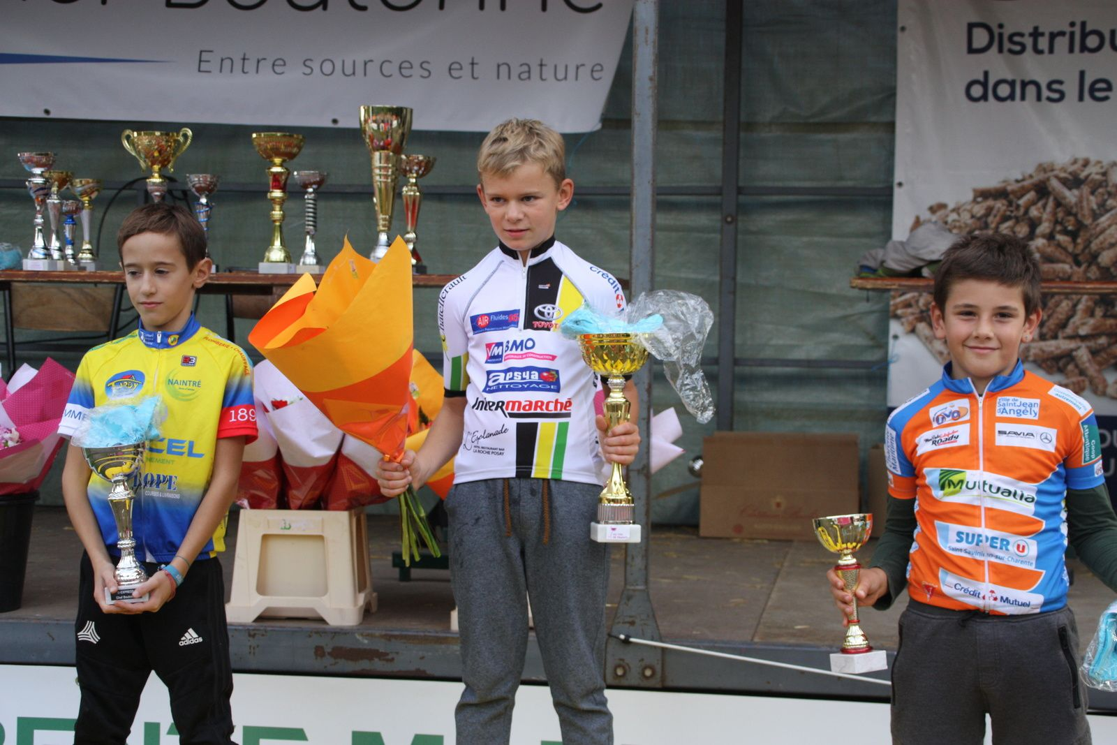 Podium  Pupilles