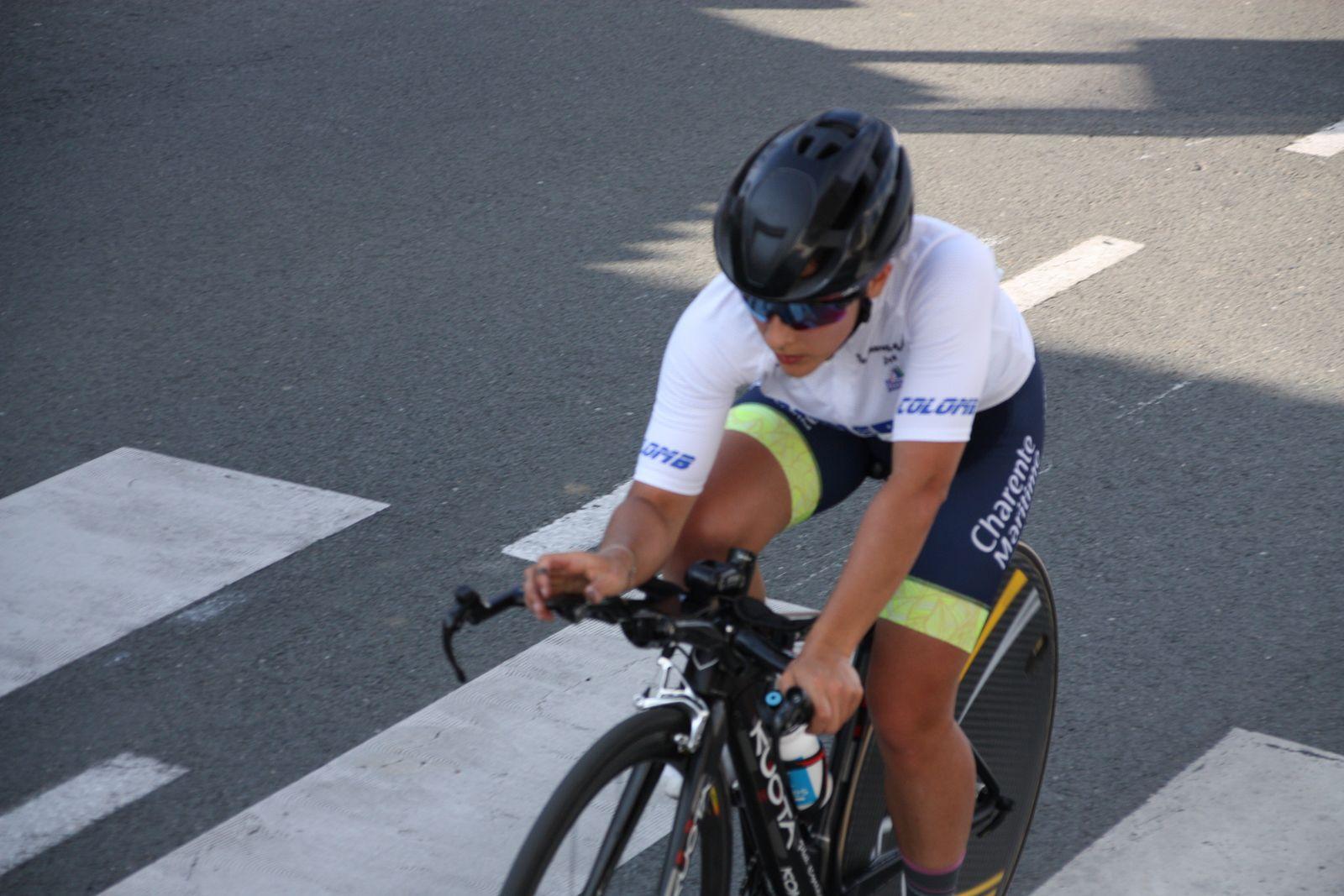 2e étape contre  la montre  à  St  Germain de Lusignan