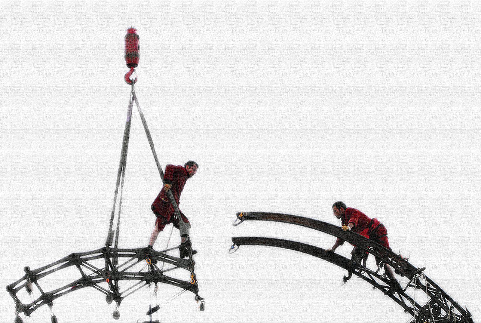 ROYAL DE LUXE MON EXPOSITION A LONDRES EN 2010