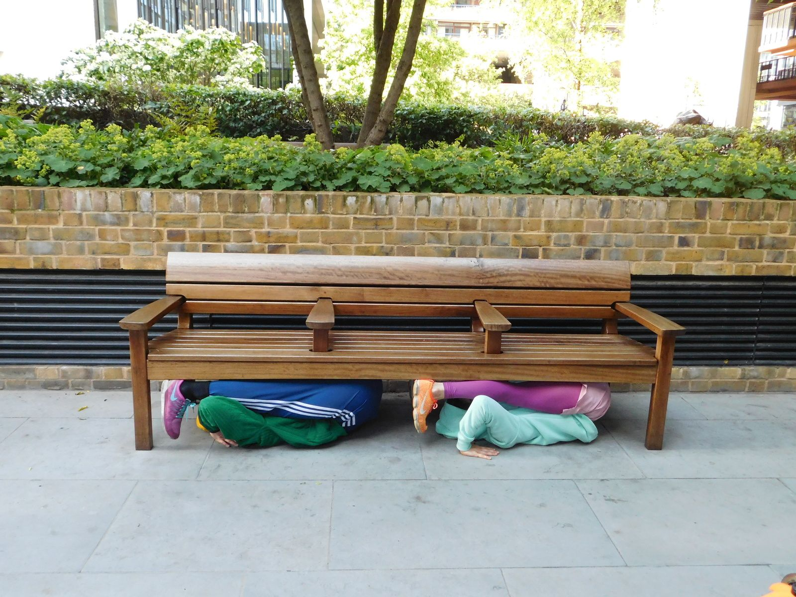 WILLY DONER Bodies in Urban Space. Londres.