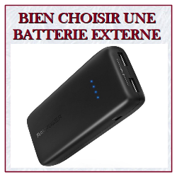 guide d'achat batterie externe portable nomade