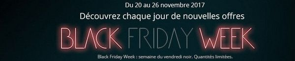 promotions boulanger special black friday week france 2017