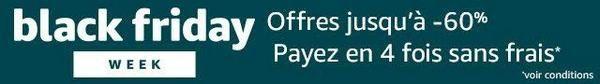 AMAZON BLACK FRIDAY WEEK: accès à toutes les offres promotionnelles du géant américain