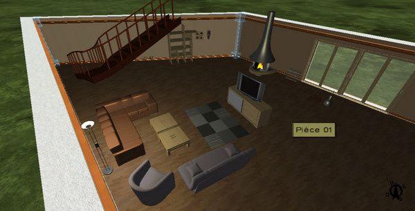 visuel création avec logiciel architecture 3D