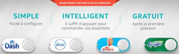 nouvelles marques dash button amazon