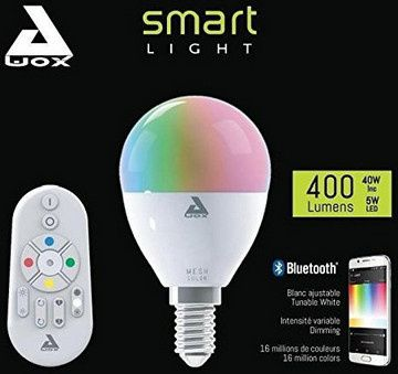 test ampoule led connect e smartlight mesh color awox tests et bons plans pour consommer malin. Black Bedroom Furniture Sets. Home Design Ideas