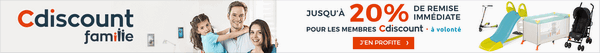 promos famille cdiscount