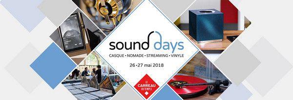 Sound Days 2018 @ Carreau du Temple Paris