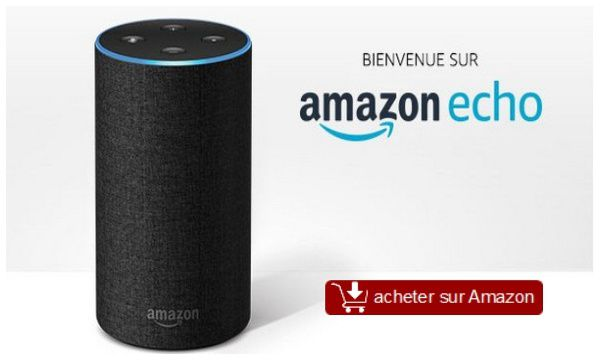 test amazon echo enceinte commande vocale alexa tests et bons plans pour consommer malin. Black Bedroom Furniture Sets. Home Design Ideas
