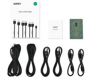 test cables micro-usb aukey