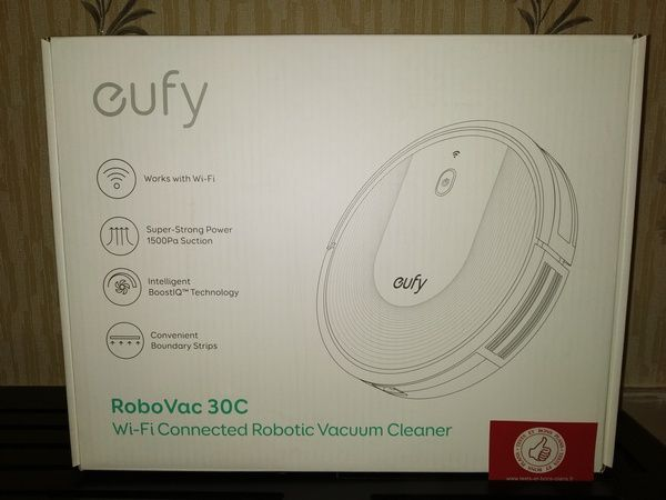Eufy boostiq Robovac 30 C, Robot aspirateur, Wi Fi, Super