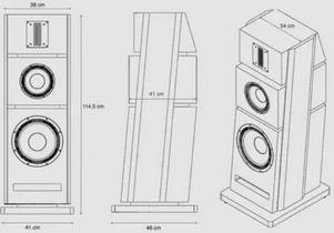 enceintes colonnes Advance Paris X-L500
