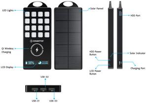 S Conserver Batterie solaire